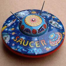 SAUCER Z-2000 Welby FLIEGENDE UNTERTASSE Karton Schlüssel UFO Roboter TOPZUSTAND