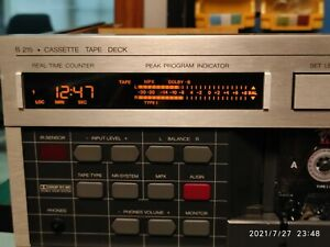 REVOX B215  Cassette Decks LCD display