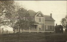 Home - Richland Center WI Cancel 1908 Real Photo Postcard