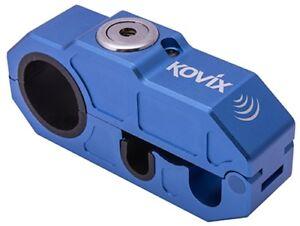 Kovix Khl Alarm-Bremshebelschloss Moto Vol Protection Système D'Alarme Bleu
