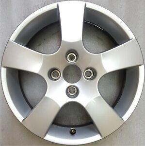 original Peugeot 207 Alufelge 9686100080 Canberra 6x16 4CH27 ET27 jante 5402AK