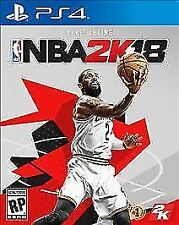 NBA 2K18 (Sony PlayStation 4, 2017)