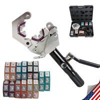 71500 Hydraulic pantalones crimper crimping tool kit Conditioner automotive Repaire