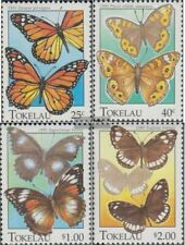 Tokelau 219-222 (complete issue) unmounted mint / never hinged 1995 Butterflies