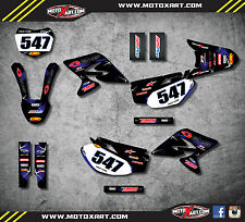 Full  Custom Graphic  Kit BARBED - Yamaha TTR 230  2005 - 2012 decals / sticker