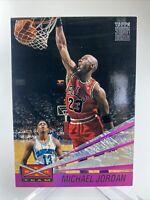 1993-94 Topps Stadium Club Beam Team Insert Michael Jordan #4 Chicago Bulls HOF