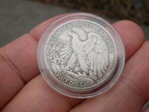 Silver Half Dollar 1945   ( cased)
