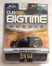 Jada Dub City BigTime Muscle '06 2006 Dodge Magnum R/T Black Diecast 1/64 Scale