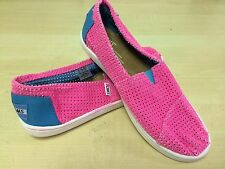 NEW Youth Authentic Toms Classics Canvas Slip On Mesh Kids Shoes