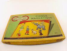 FALCO n° 1 JEU AIMANTO Le CIRQUE MAGNETIQUE 1950-60 en boite ancien