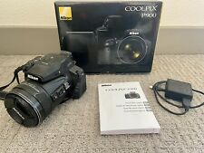 Nikon Coolpix P900 16Mp Compact Digital Camera with Original Box + Accessories