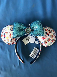 DCL CRUISE LINE  Disney EARS HEADBAND Hard to Find INK and PAINT  New with TAGS