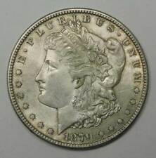 1879-S Morgan Silver Dollar. Almost Uncirculated. Below WHOLESALE!
