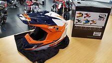MSR SC1 PHOENIX youth helmet SMALL White/Orange?Navy CLOSEOUT!