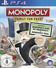 Monopoly Family Fun Pack Ps4 (Sony PlayStation 4) Versiegelt NEU OVP