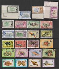 Belize/British Honduras - QEII Mint & Used Collection (7 scans)