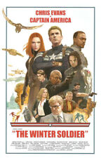 Captain America 2 The Winter Soldier Superheroes Movie Poster Wall Home Decor