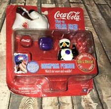 Coca-Cola Wind-Up POLAR CREW Magnetic Backpack Bears Can Play in ALL Coke MINI