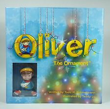 Nib Oliver the Ornament Christmas Story Book with Hand Painted Oliver Ornament