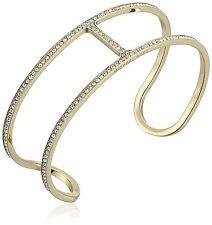 MKJ4433 Michael Kors H Pave Gold Tone Cuff Bracelet