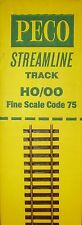 PECO CODE 75 OO GAUGE SL100F FLEXI FINE TRACK BULK BOX OF 25 LENGHTS PESL100FB