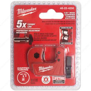 "Milwaukee* 48-22-4250 13mm / 1/2"" Mini Copper Tubing Cutter Hand Tool"