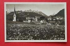 Tirol AK Seefeld 1945 Karwendel Arnspitzen Ortsansicht Gebäude Architektur