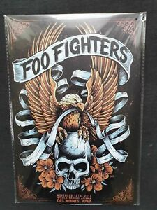 Foo Fighters Metal Sign Plaque English Rock posters