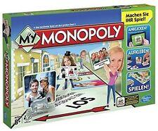 Monopoly Eigenständiges spiele mit Landkarten- & Weltkarten-Thema
