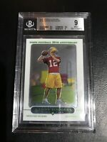 AARON RODGERS 2005 Topps Chrome TC Rookie Card RC BGS 9 Mint Green Bay Packers