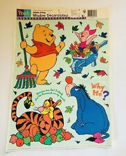 Winnie The Pooh Static Cling Window Decorations 17 X 12 Sheet