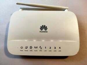 HUAWEI Wireless ADSL Modem - Home Gateway HG532d + Power Cord - Excellent Cond