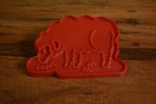 vintage Old Mac Donald's sheep 1979 Chilton plastic cookie cutter