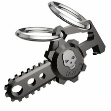 Hephis Skull Car Keychain Plus with Dual Rings for Men Bottle Opener Key Ring AU