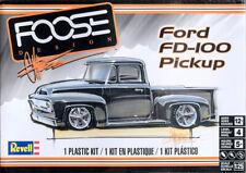 Ford FD-100 Pickup Truck Foose Design F-100 1:25 Model Kit Bausatz Revell 4426
