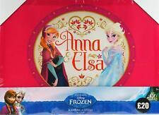Disney Frozen Pink Elsa Anna Canvas Wall Art Print Picture 46 x 33cm