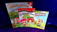 3 SSC SHORTCAKE BOOKs The Berry Big Storm Custard & Pupcake A Strawberry World