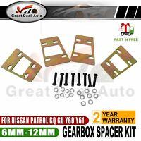 Big Lift Kit Transmission Gear Box Spacer For GQ GU Y60 Y61 Patrol Nissan 89-12
