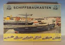 Steiff Uralt 7845.00 Holz Schiffsbaukasten in O-Box a.d.60er Jahren #234