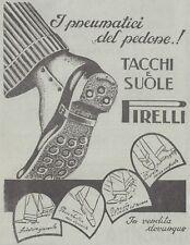 V1081 Tacchi e suole PIRELLI - Pubblicità d'epoca - 1933 vintage advertising