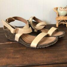 Teva cabrillo wedge sandal beige sz 8