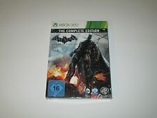 Batman: Arkham Origins Complete Edition XBOX 360 Import Steelbook Sealed