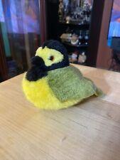 2001 K & M International Audubon HOODED WARBLER RARE Bird Plush Chirping Sounds