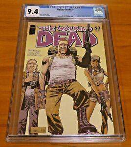 The Walking Dead #53 Image Comics 2008 CGC Graded 9.4 Pin-up Back Cover Rathburn