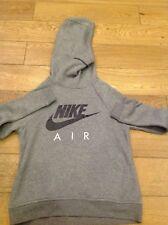 Nike Women's Sportswear Rally Funnel Neck Hoodie Small Grey