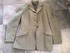 """Ladies 38"""" Derby Tweed Autumn Hunting/hacking Jacket (sim To keepers Tweed)"""
