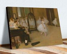 CANVAS WALL ART PRINT ARTWORK PAINTING Ballet Edgar Degas the Dancing Class