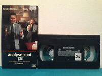 Analyze this / Analyse-moi ca !   VHS tape & sleeve RENTAL  FRENCH