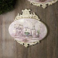 Quadro Ovale con Cornice e Fregi Vintage Shabby Chic 2 Variante 40 x 30