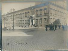 Italie, Rome, Le Quirinal, ca.1910, vintage silver print Vintage silver print wi